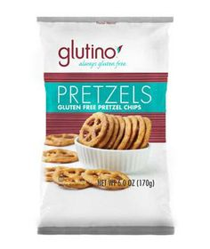 Glutino Pretzel Chips: Stack these thin but sturdy crackers with cheese, hummus, or paté, for a flat-out satisfying snack.