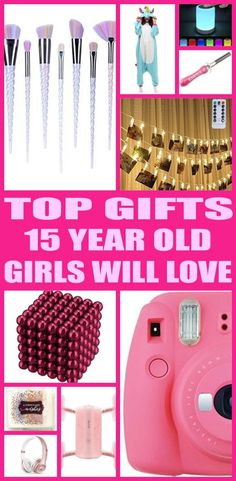 Find the best gifts for 15 year old girls! Teens / Kids would love a gift from this ultimate gift guide. Find the best makeup, electronics, beauty, clothes, games, toys and non toy gifts perfect for 15 year old girl birthdays, Christmas and other gift occasions. Cool & Awesome Tween and Teen Gifts for Girls!