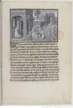 Vie et miracles de Notre Dame, en prose française, arrangés par Jean MIÉLOT. Français 9199 -- 1401-1500 -- manuscrits