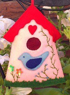 Margreet's vilt en meer: birdhouse