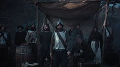 "This simple tease spot for ""Saints & Strangers"" features group portraits of both the Settlers (the 'saints' and the 'strangers')… Saints And Strangers, The Settlers, Cinematography, Acting, Advertising, Portrait, Film, Concert, Videos"