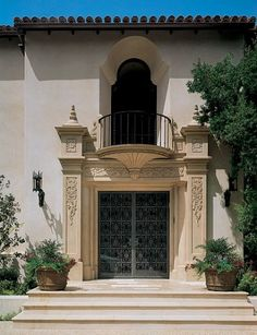 Different entrance - Spanish Revival
