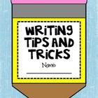 This craftivity booklet will be a great addition to your Writer's Worship lessons!  As you are introducing Writer's Workshop, have your students co...