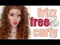 How I Do It! Frizz Free Curly Hair - The Pantene Gel used in the video (the BEST!) Gel for Curly Hair, Curl Shaping #3, Extra Strong Hold