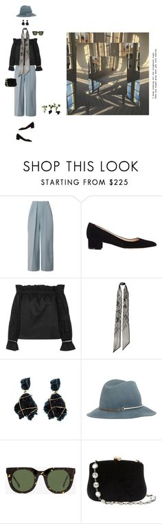 """""""FUNCTION"""" by outfitx ❤ liked on Polyvore featuring Delpozo, Manolo Blahnik, Alexis, Rodarte, Janessa Leone, Steven Alan and Serpui"""
