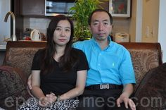 (大纪元记者唐风温哥华报导)7月20日在北京公司被绑架的加拿大公民何军、林岚夫妇在国际社会的营救下,在被关押14天后上周获释返回加拿大。 - 加拿大西