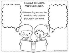 Reading Strategy   Visualization   anchor and worksheets