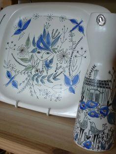 Inger Waage ceramics Stavanger, Norway, Scandinavian, Clay, Pottery, Plates, Ceramics, Lovely Things, Tableware