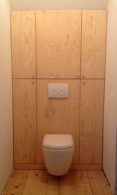 Bathroom Interior, Modern Bathroom, Small Bathroom, Plywood House, Cottage Extension, Bathroom Wall Cabinets, Space Saving Furniture, Bathroom Styling, Bathroom Inspiration