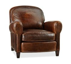 ROWLING LEATHER ARMCHAIR @ Pottery Barn