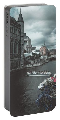 Travel Portable Battery Charger featuring the photograph The City Of Flowers by Elena Ivanova IvEA  #ElenaIvanovaIvEAFineArtDesign #Design #Print #Gift #PortableBatteryChargers #IvEA
