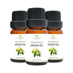 3 pcs Moroccan Argan Oil Hair Treatment Hair Nourishing Essential Oil 10ml Damag