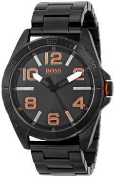 BOSS Orange Homme 1513001 Berlin Analog Display Quartz Black Montre | Your #1 Source for Watches and Accessories