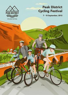 The 1st Peak District Cycling Festival 7 - 15 September - rides, events and activities morning, afternoon and evening!