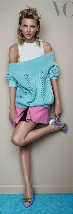 Taylor Swift fronts British Vogue November 2014.