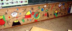 miró Preschool Art Lessons, Art Lessons For Kids, Projects For Kids, Art For Kids, Art Lessons Elementary, Activities For Kids, Third Grade Art, Collaborative Art Projects, Artist Project