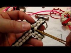 ▶ How To Make a Paracord Cross (attach small cross, w/beads) - YouTube
