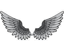 Justin Bieber Wings Temporary Tattoo Tatuajes Tatuaje Buho