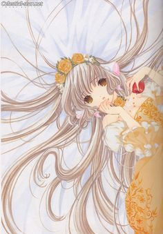 Chobits Fan Book image by Clamp
