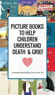 Best children's books about death to help children understand and address their grief and find comfort in the memory of loved ones. Book Club Recommendations, Book Club List, Book Lists, Reading Lists, Read Aloud Books, Children's Books, Good Books, Best Children Books, Book Of Life