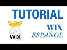 Tutorial Wix en Español Paso a Paso 2015 - YouTube