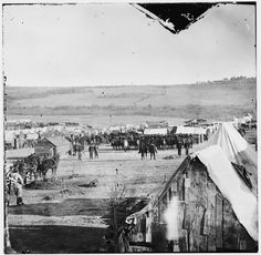 Camp of the 5th Pennsylvania Cavalry Near the Battlefield – Near Fort Burnham, VA, October 29, 1864