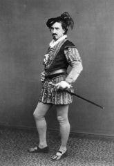 Edwin Booth as Iago in Shakespeare's Othello