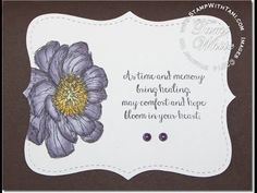 Blendabilities Markers from Stampin Up used on the Bloom with Hope stamp set - YouTube