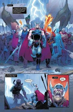 Thor _Director's Cut (Part - Read Thor _Director's Cut (Part comic online in high quality Marvel Vs, Marvel Funny, Marvel Heroes, Marvel Characters, Illustration Comic, Comic Art, Comic Books, Comic Book Collection, The Mighty Thor