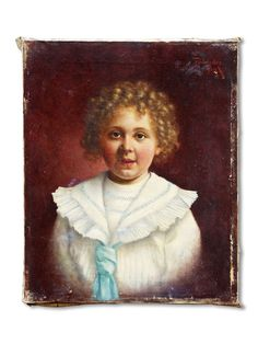 signed-oil-painting-of-young-girl-in-sailorsuit