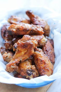 Baked Apple Butter Brown Sugar Wings Recipe on Yummly. @yummly #recipe
