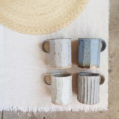 Beautiful, tactile mugs, made in LA.