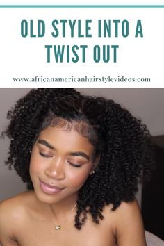 How To Turn that old protective style into a new twist out Natural Hairstyles, Cute Hairstyles, Natural Hair Transitioning, Twist Outs, Hair Pictures, Protective Styles, Tired, Curls, Tutorials