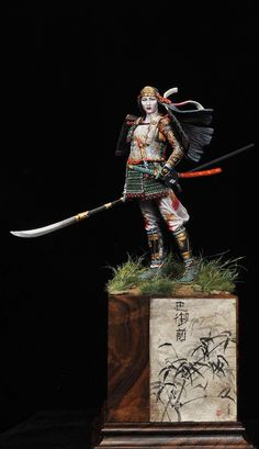 Tomoe Gozen, Battle of Awazu ( ALEXANDROS MODELS)
