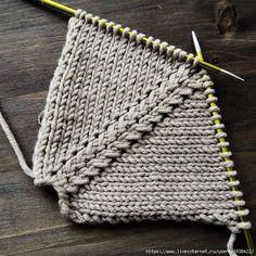 Оригинальная и простая линия реглана сверху спицами - Halfar Bolso De Hombro Courier HalfarHalfar- El tejido de punto es tan fácil como . Baby Sweater Knitting Pattern, Knitting Videos, Sweater Knitting Patterns, Knitting Designs, Knit Patterns, Free Knitting, Knitting Projects, Stitch Patterns, Knitting Needles