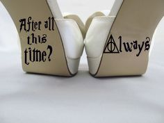 We think this is going to be a hit! Do you? New to our store, the Harry Potter insp.... Learn all about it. http://kreative-decals.myshopify.com/products/harry-potter-inspired-after-all-this-time-always-wedding-shoe-decal?utm_campaign=social_autopilot&utm_source=pin&utm_medium=pin