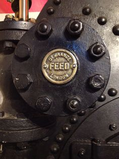 Dewrance Feed London. The makers of the steam powered systems that used to raise Tower Bridge.