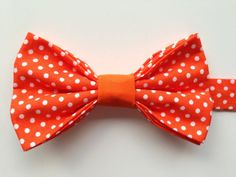 Kids Orange Polkadot