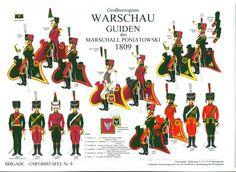 Duchy of Warsaw;Poniatowski Guides 1809.