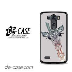 Giraffe For LG G3 Case Phone Case Gift Present YO