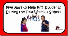5 Tips to Help ESL Students on the First Day of School