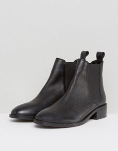 ASOS Absolute Leather Chelsea Ankle Boots- $60