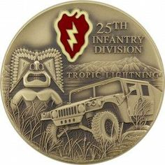 25th Infantry Division Coin
