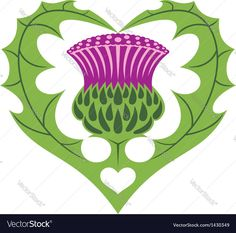 scotttish thistle and hearth tattoo. Download a Free Preview or High Quality Adobe Illustrator Ai, EPS, PDF and High Resolution JPEG versions.