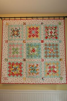 Sewn With Grace: Great Granny Quilt