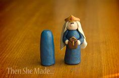 Then she made...: Nativity Tutorial - Wiseman 2