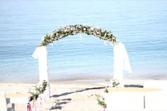 If planning a wedding on the beach, please allow our talented team of experts to guide you through every step of the way. We make your dreams come true in the most Cretan-Creative way! Crete Hotels, Dream Come True, Dreaming Of You, Wedding Planning, Make It Yourself, Table Decorations, How To Plan, Beach, Creative