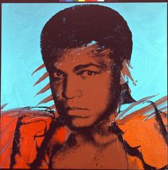 Andy Warhol Muhammad Ali print for sale. Shop for Andy Warhol Muhammad Ali painting and frame at discount price, ships in 24 hours. Andy Warhol Pop Art, Andy Warhol Obra, Andy Warhol Portraits, Andy Warhol Museum, Mohamed Ali, Power Pop, Roy Lichtenstein, Arte Pop, Pittsburgh