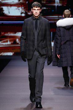 Tartan Plaid Suit Blazer  Ermenegildo Zegna   Fall 2014 Menswear Collection   Style.com