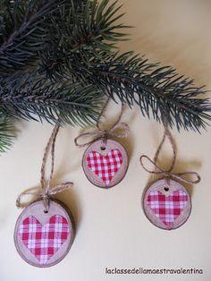 #wood #fabric #ornament